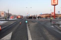 Tragiczny wypadek w Ciechanowie. 1 osoba nie żyje.