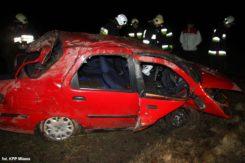 Wypadek w Prusocinie, dwóch rannych trafiło do szpitala!