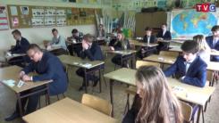 Zmagania egzaminacyjne ciechanowskich gimnazjalistów