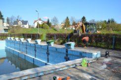 Rozpoczęła się modernizacja basenu odkrytego przy ul. Kraszewskiego