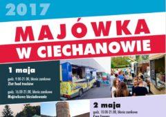 Majówka 2017 w Ciechanowie ! Sprawdź co będzie się działo.