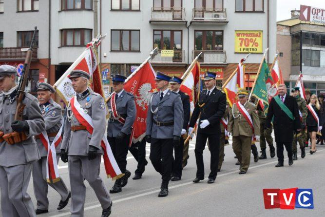Obchody 226. rocznicy uchwalenia Konstytucji 3 Maja w Ciechanowie.
