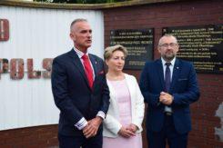 Konferencja prasowa w sprawie utworzenia Brygady Wojsk Obrony Terytorialnej w Ciechanowie