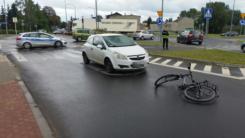 Wypadek na skrzyżowaniu ul.Płońskiej z Armii Krajowej i Mleczarska. Są ranni !