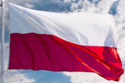 Pijany mieszkaniec Ciechanowa chciał ukraść flagi, teraz odpowie przed sądem.