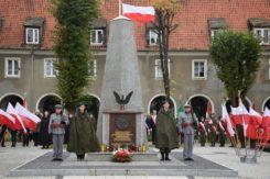 Obchody 11 listopada w Ciechanowie