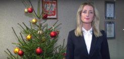 Życzenia Świąteczne Marioli Kołakowskiej - Kierownik Oddziału Terenowego KRUS w Ciechanowie