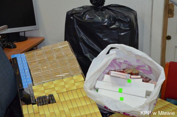 Nielegalne papierosy i alkohol skonfiskowane!