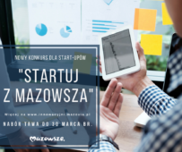 STARTUJ Z MAZOWSZA - konkurs dla start-upów