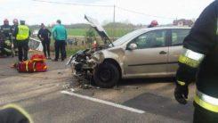 Wypadek na drodze nr 615 w gm. Regimin