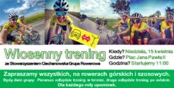Ciechanowska Grupa Rowerowa zaprasza na wspólny trening