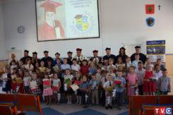 Zakończenie roku akademickiego 2017/2018 na Uniwersytecie Dziecięcym PWSZ