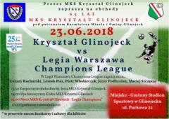 Mecz Kryształ Glinojeck - Legia Warszawa Champions League