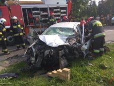 Wypadek w Pawłowie