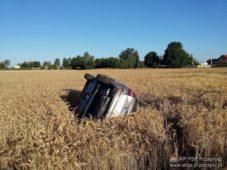 Wypadek z udziałem 2 samochodów osobowych