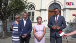 Konferencja prasowa PiS - przedstawienie kandydata na Prezydenta Ciechanowa