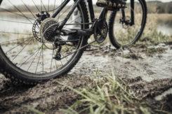 Nietrzeźwy rowerzysta podróżował z dziećmi!