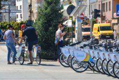 Pilotażowy program rowerów miejskich przyjął się w Ciechanowie