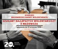 Poszukiwani najlepsi Wolontariusze na Mazowszu!