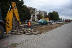 Remont parkingów przy ul. Armii Krajowej