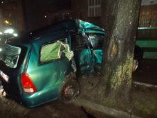 Wypadek na Orylskiej w Ciechanowie