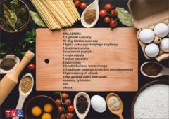 Dorsz na warzywnej awanturce - przepis P. Małgosi