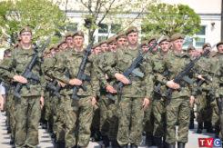 Retransmisja przysięgi wojskowej V Mazowieckiej Brygady Wojsk Obrony Terytorialnej w Ciechanowie