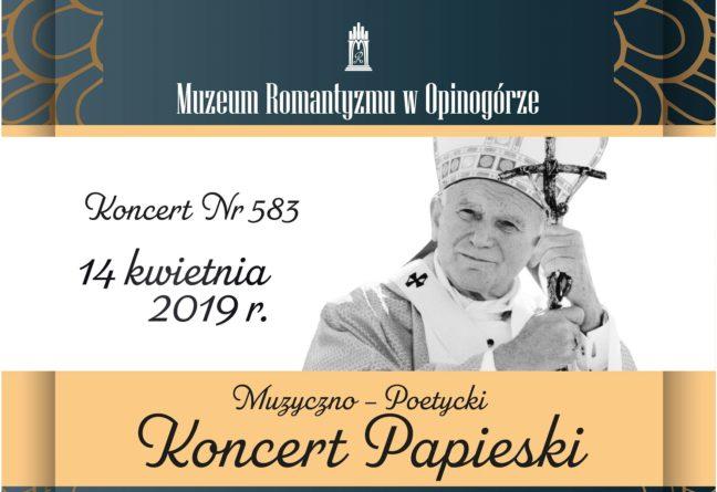 Koncert Niedzielny w Muzeum Romantyzmu w Opinogórze