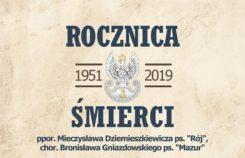 Uroczystości upamiętniające śmierć Mieczysława Dziemieszkiewicza ps.