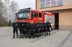 Nowy wóz ratowniczo - gaśniczy w ciechanowskiej straży
