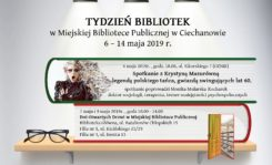 Tydzień Bibliotek w Miejskiej Bibliotece Publicznej w Ciechanowie - sprawdź harmonogram spotkań