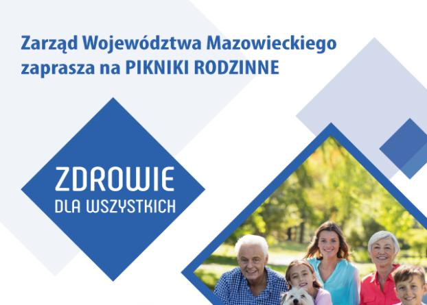Piknik Rodzinny  - zdrowie dla wszystkich w Ciechanowie