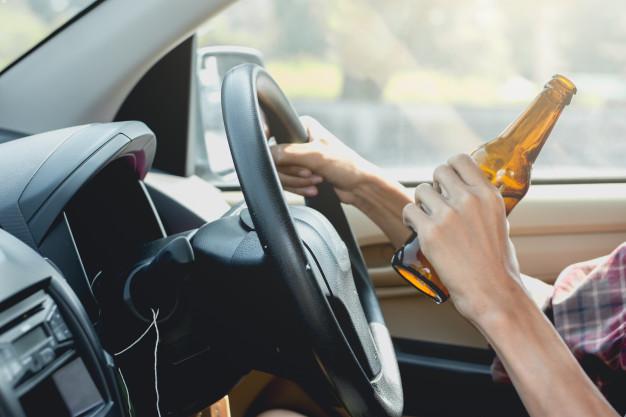 Pięciu kierowców pod wpływem alkoholu