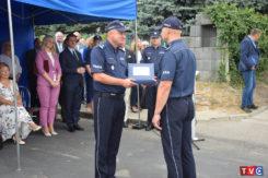 Oficjalne otwarcie Posterunku Policji w Regiminie