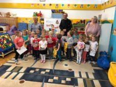 Strażacy odwiedzili dzieci w Przedszkolu Miejskim nr 5