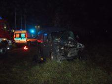 Wypadek dwóch samochodów w Ciechanowie przy ul. Mławskiej