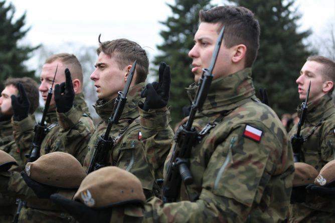 Przysięga Mazowieckich Terytorialsów w Ciechanowie [FOTO]