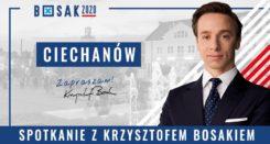 Krzysztof Bosak w Ciechanowie #wybory2020