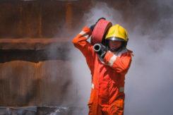 Podsumowanie weekendu interwencji przez ciechanowskich strażaków