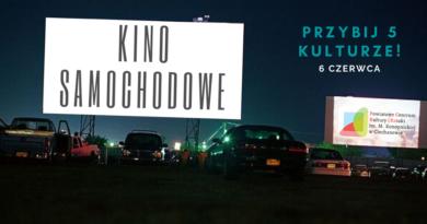 PCKiSZ zaprasza na kino samochodowe