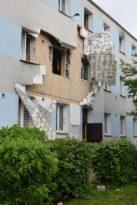 Wybuch gazu w budynku wielorodzinnym w Płońsku