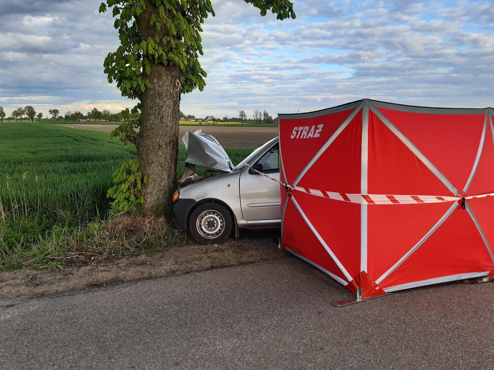 Śmiertelny wypadek we Wróblewie
