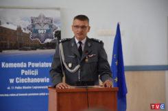 Zmiana na stanowisku Komendanta Powiatowego Policji w Ciechanowie