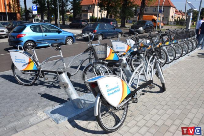 Nowa stacja Ciechanowskiego Roweru Miejskiego