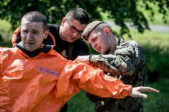 Strażacy szkolą żołnierzy WOT