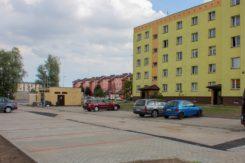 Wykonano nowy parking przy ul. Powstańców Wielkopolskich.