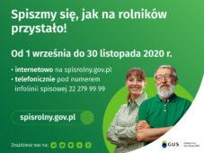Powszechny Spis Rolny - Rolniku weź w nim udział!