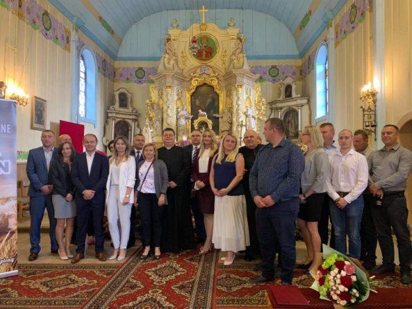 Dożynki gminno-parafialne w Koziczynku gm.Regimin [FOTO]