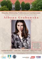 Spotkanie autorskie w Miejskiej Bibliotece Publicznej w Ciechanowie