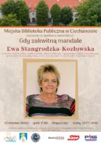 Spotkanie autorskie z Ewą Stangrodzką - Kozłowską